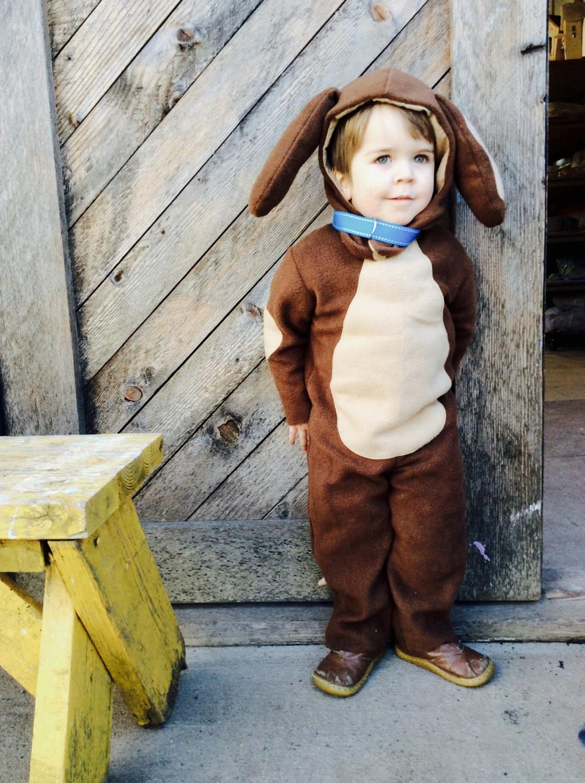 DIY Dog Costume For Kids  Puppy Dog Halloween Kids Costume for Boys or Girls Toddler