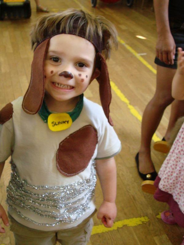 DIY Dog Costume For Kids  Slinky dog costume