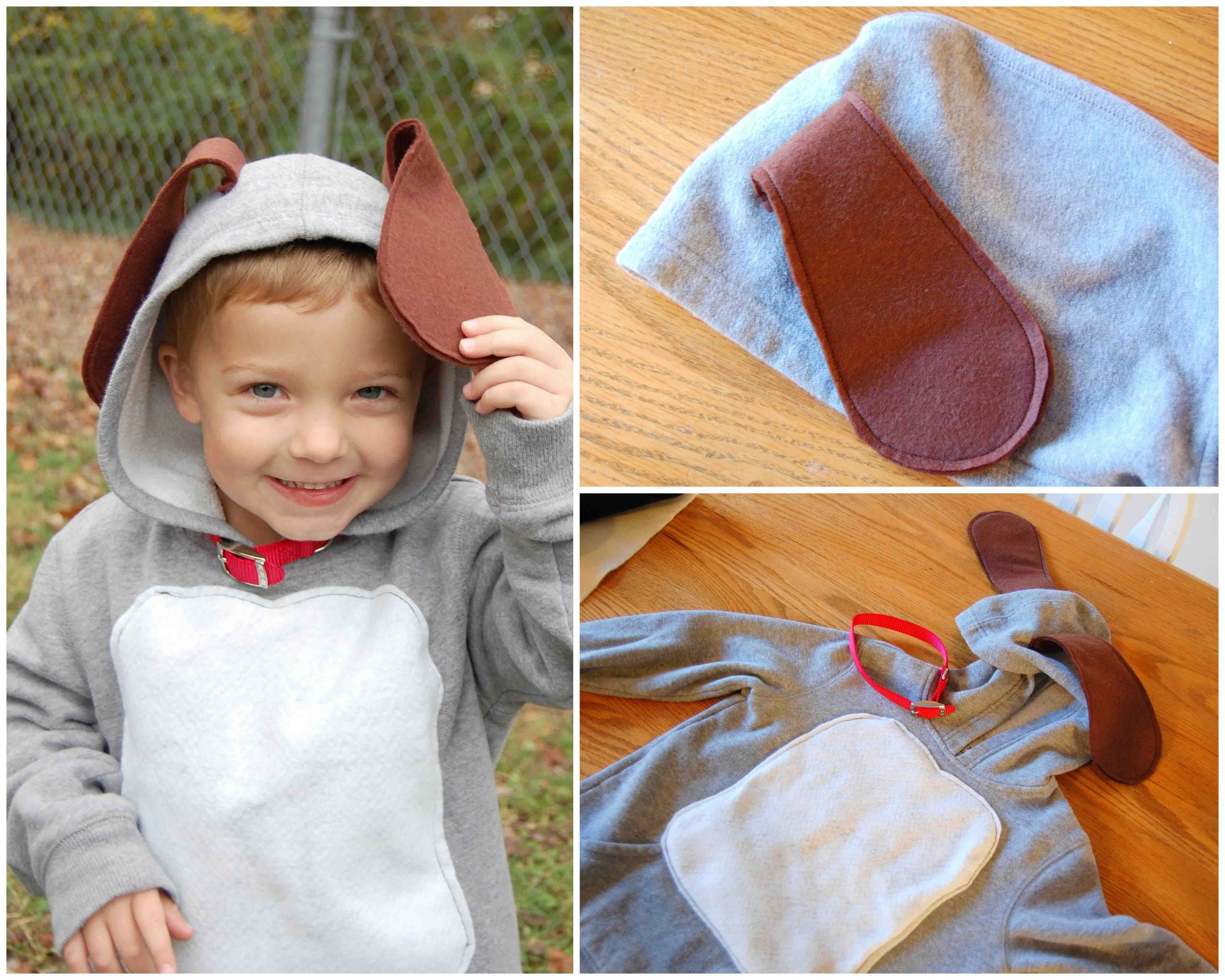 DIY Dog Costume For Kids  [Pinning my own because I had trouble finding a homemade