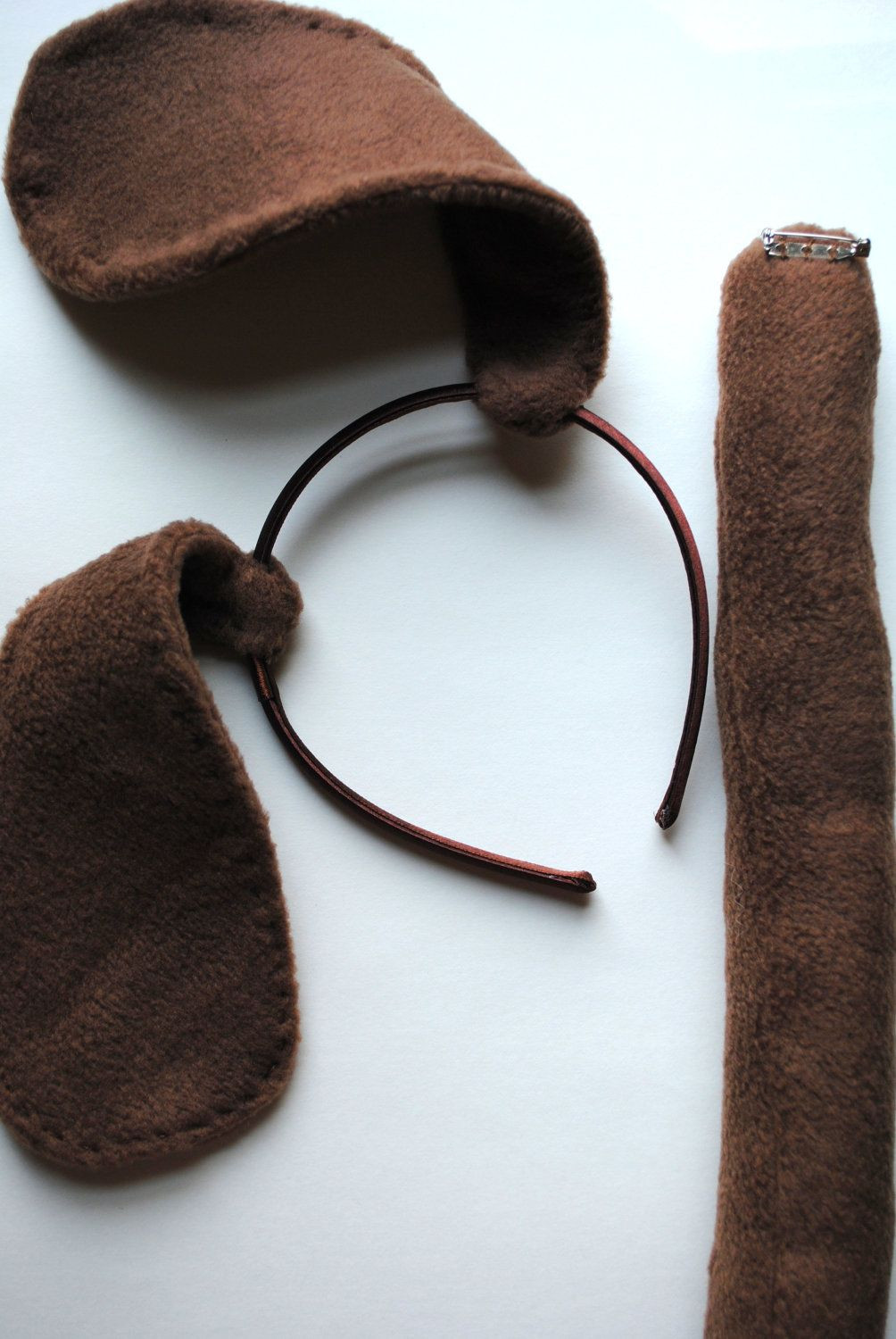 DIY Dog Costume For Kids  Reserved Listing 2 Kids Puppy Ears and Tails