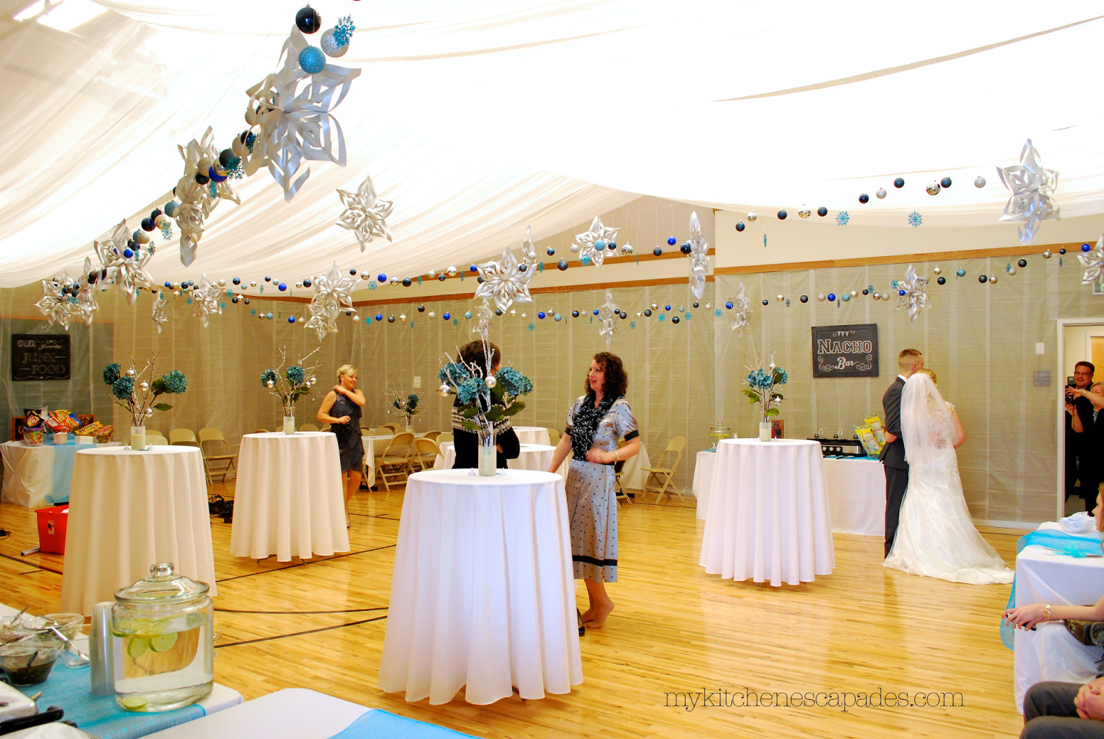 DIY Draping For Wedding  Wedding Ceiling Draping Tutorial How to Measure and Hang