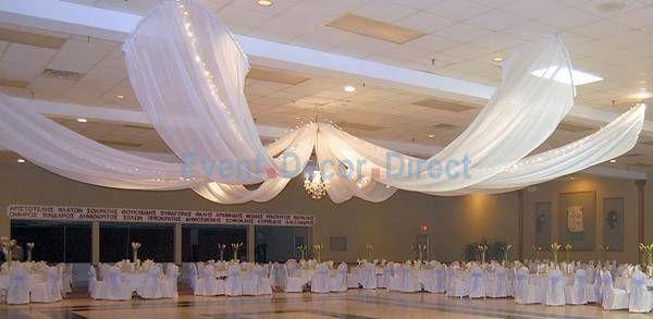 DIY Draping For Wedding  diy Wedding Crafts Ceiling Draping Kits