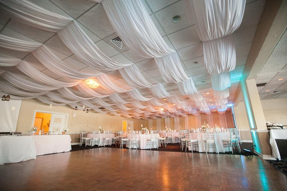 DIY Draping For Wedding  It s going to rain ggestions on how to fancy up the