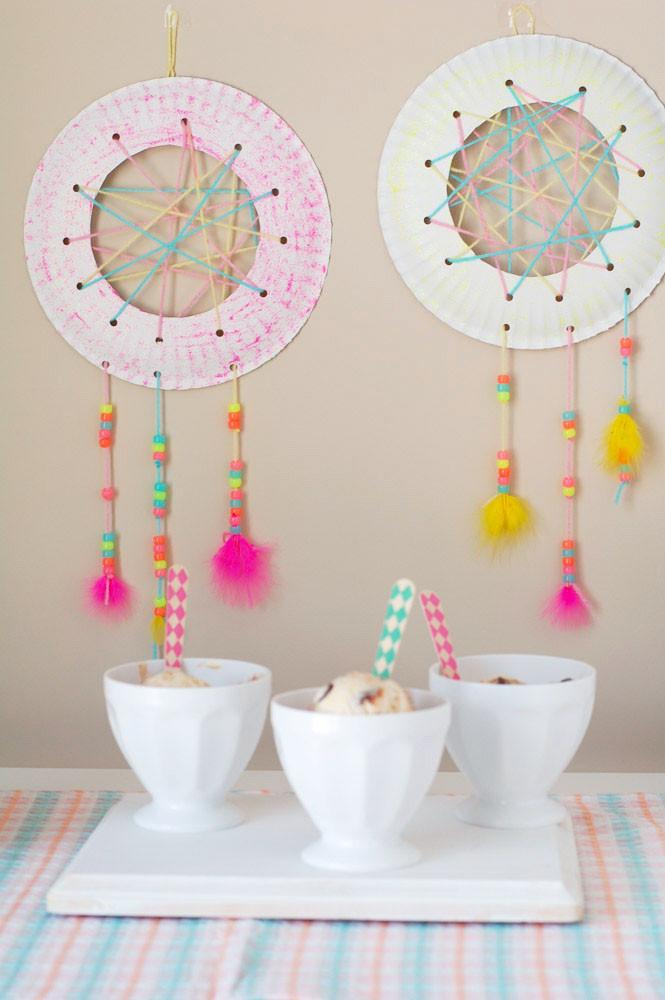 DIY Dream Catcher For Kids  Dream Catcher Craft for Kids Food Lovin Family