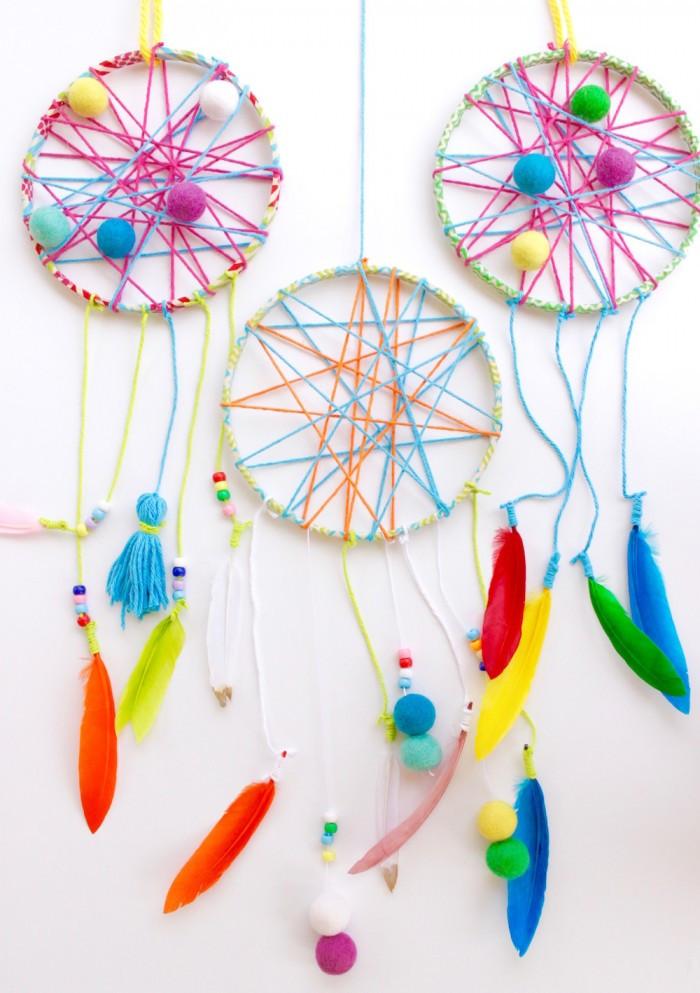 DIY Dream Catcher For Kids  Start Catching Dreams with this Whimsical DIY Project