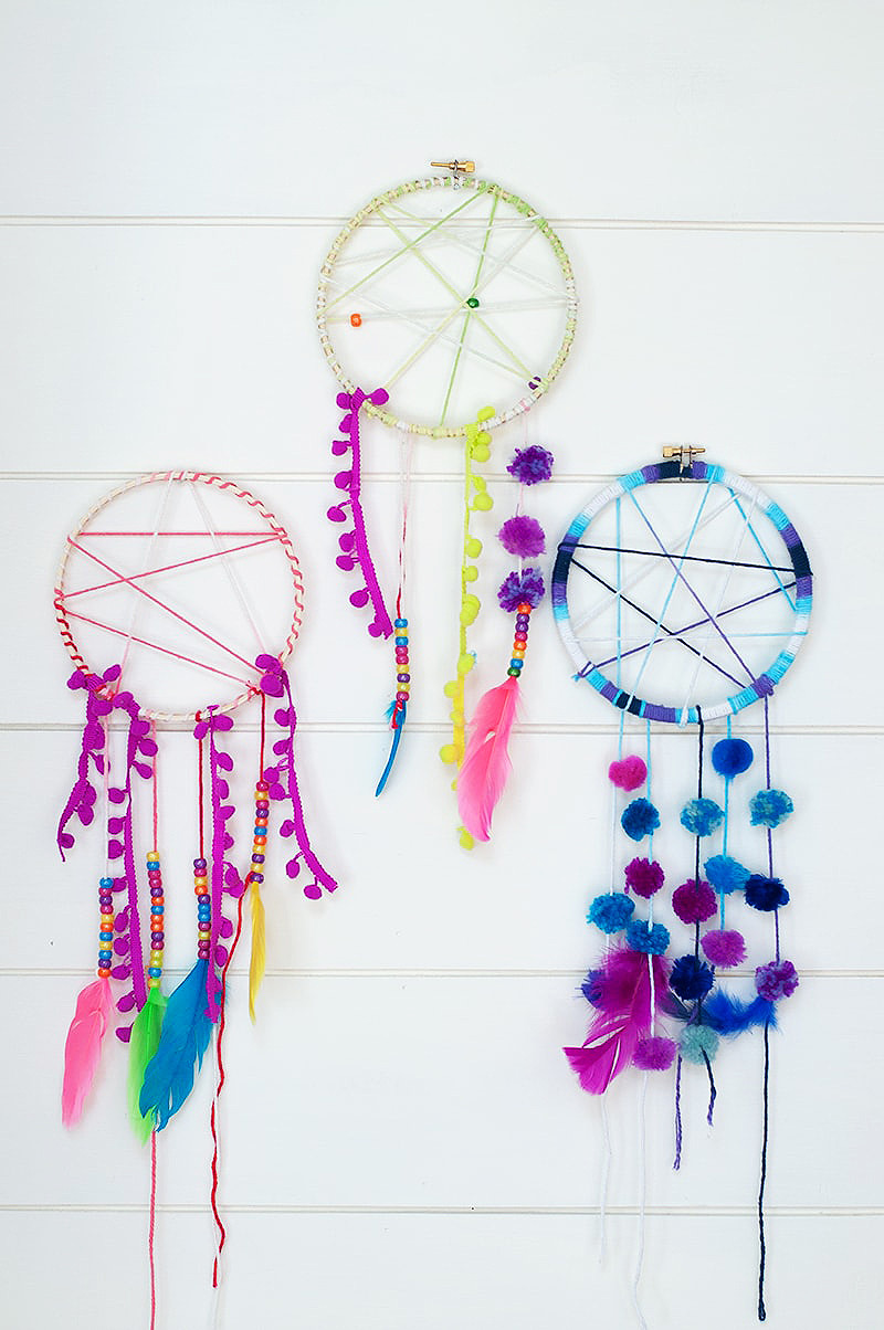 DIY Dream Catcher For Kids  Dream Catcher Project Perfect For Kids Summer Camp Darice
