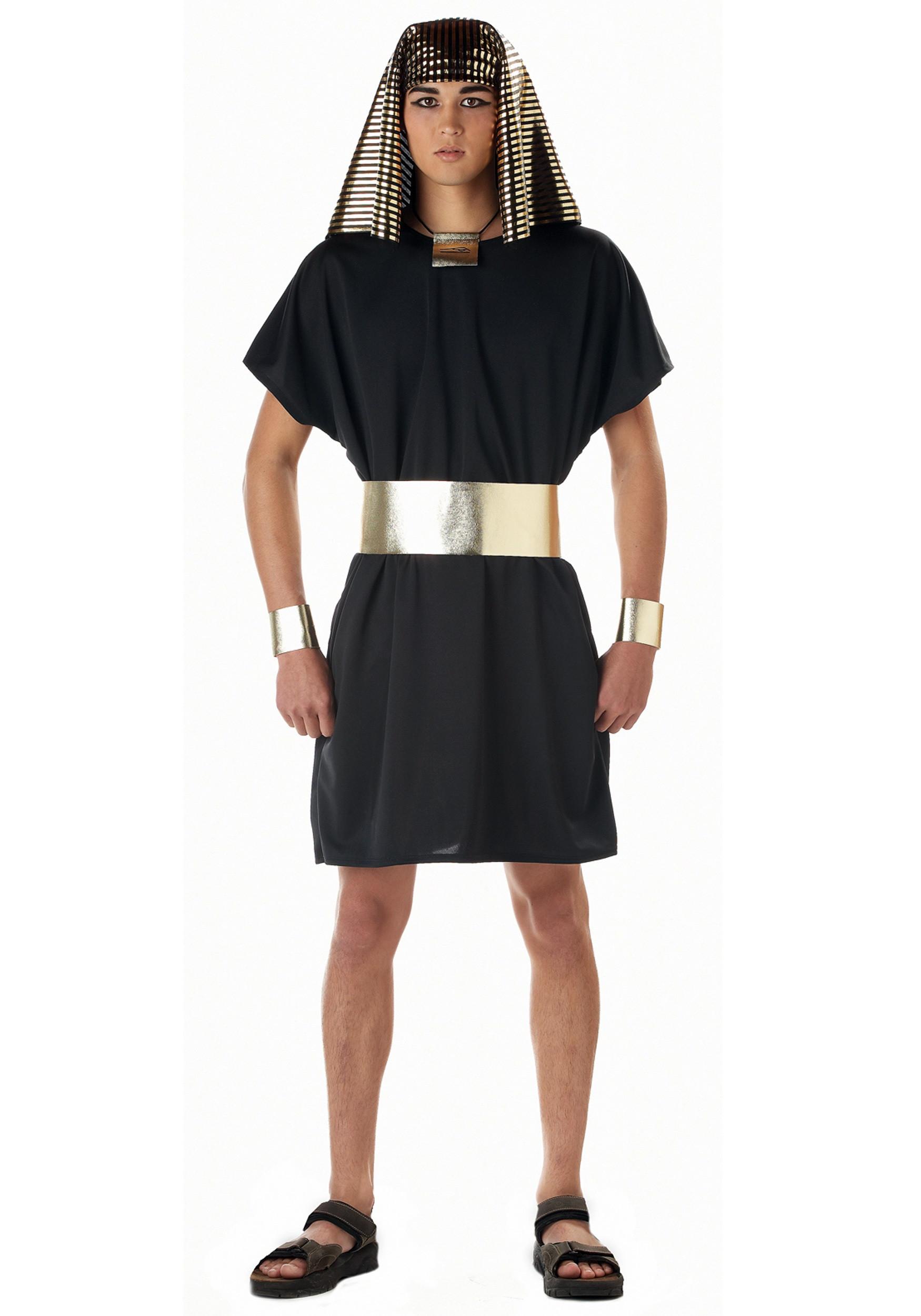 DIY Egyptian Costume  Adult Egyptian Pharaoh Costume