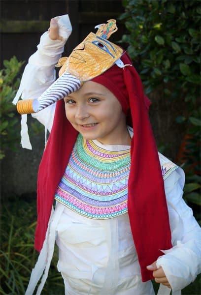 DIY Egyptian Costume  Pharaoh s Mummy Costume DIY for Halloween