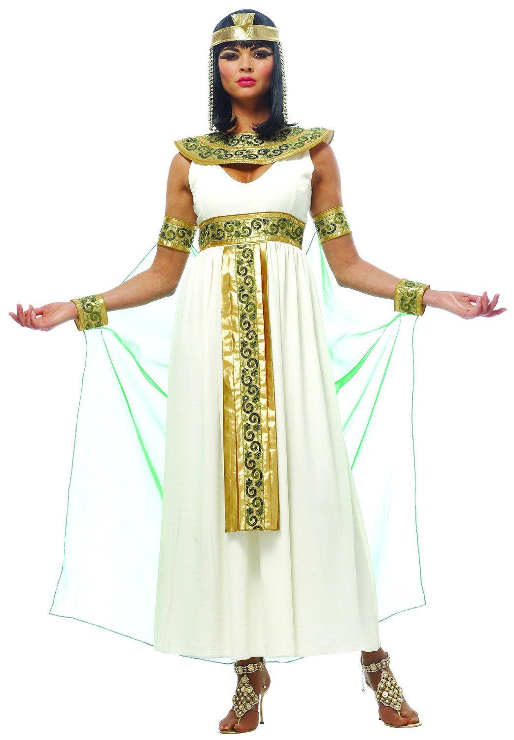 DIY Egyptian Costume  Womens Cleopatra Costume Parties Pinterest