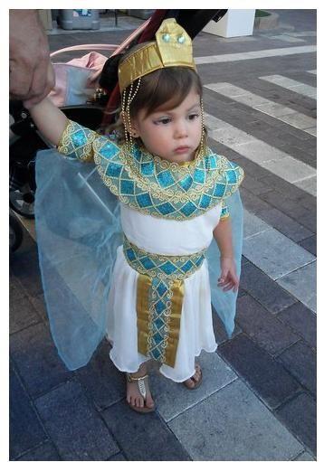 DIY Egyptian Costume  Cleopatra Costume Toddler DIY Halloween