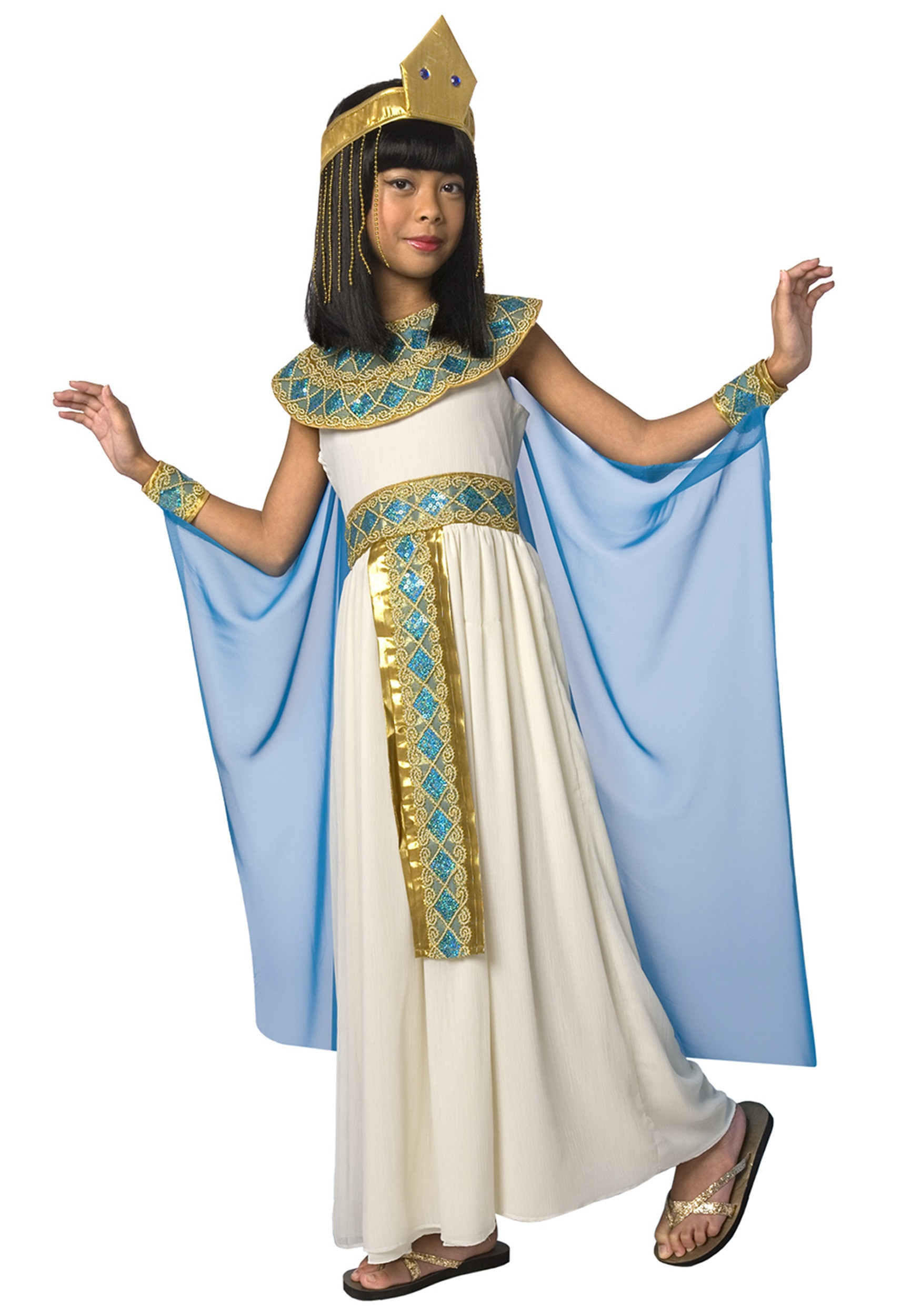 DIY Egyptian Costume  Kids Cleopatra Costume
