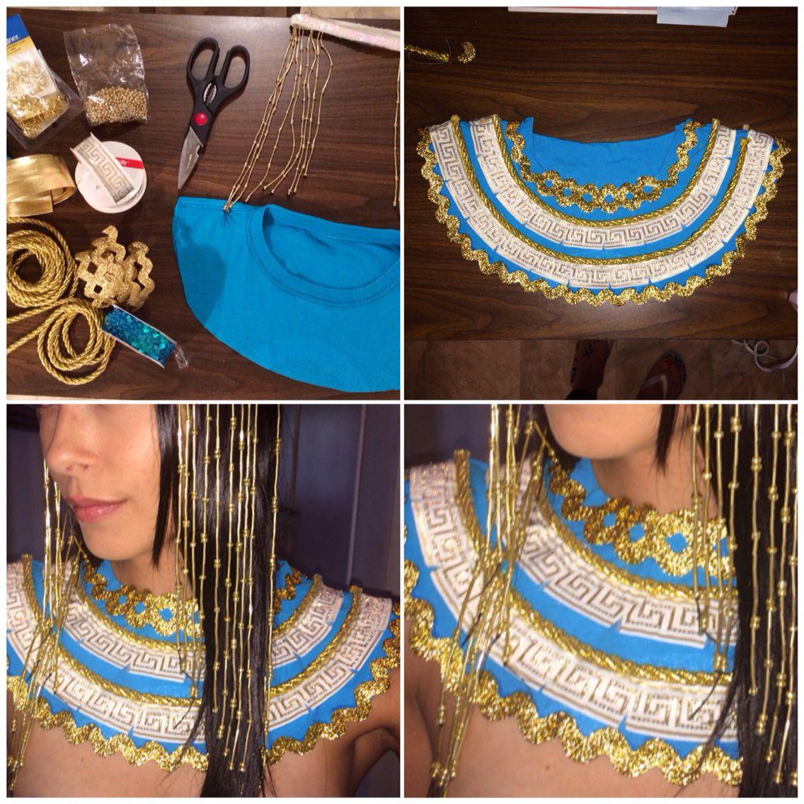 DIY Egyptian Costume  Pin auf DIY stuff