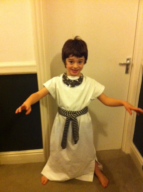 DIY Egyptian Costume  11th hour Egyptian Costume – Sewing Projects