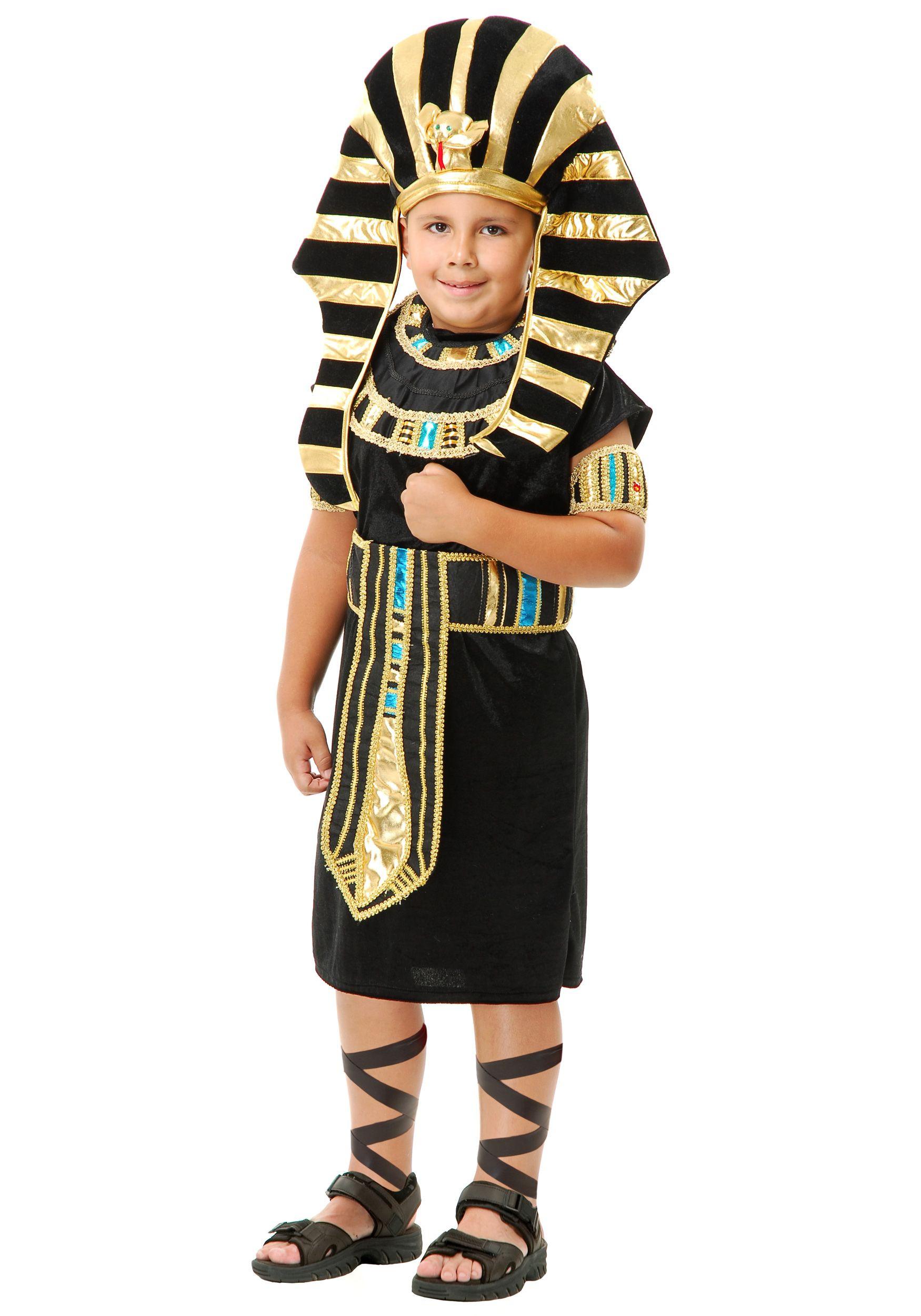 DIY Egyptian Costume  Child King Tut Costume in 2019