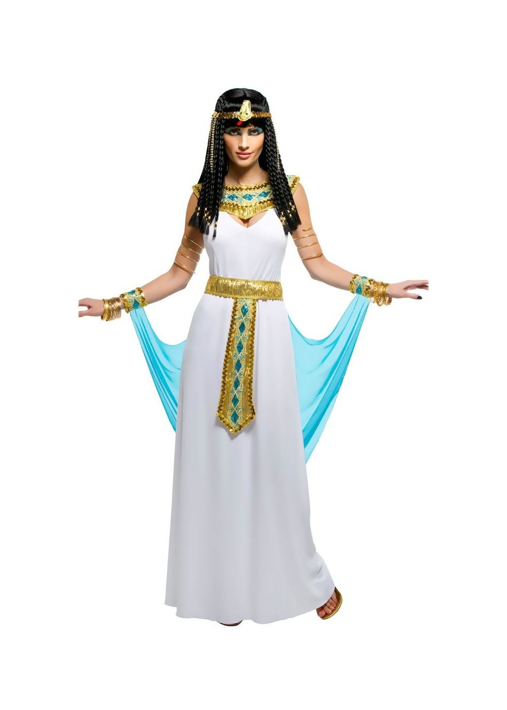 DIY Egyptian Costume  Cleopatra Egyptian Nile Queen Womens Costume