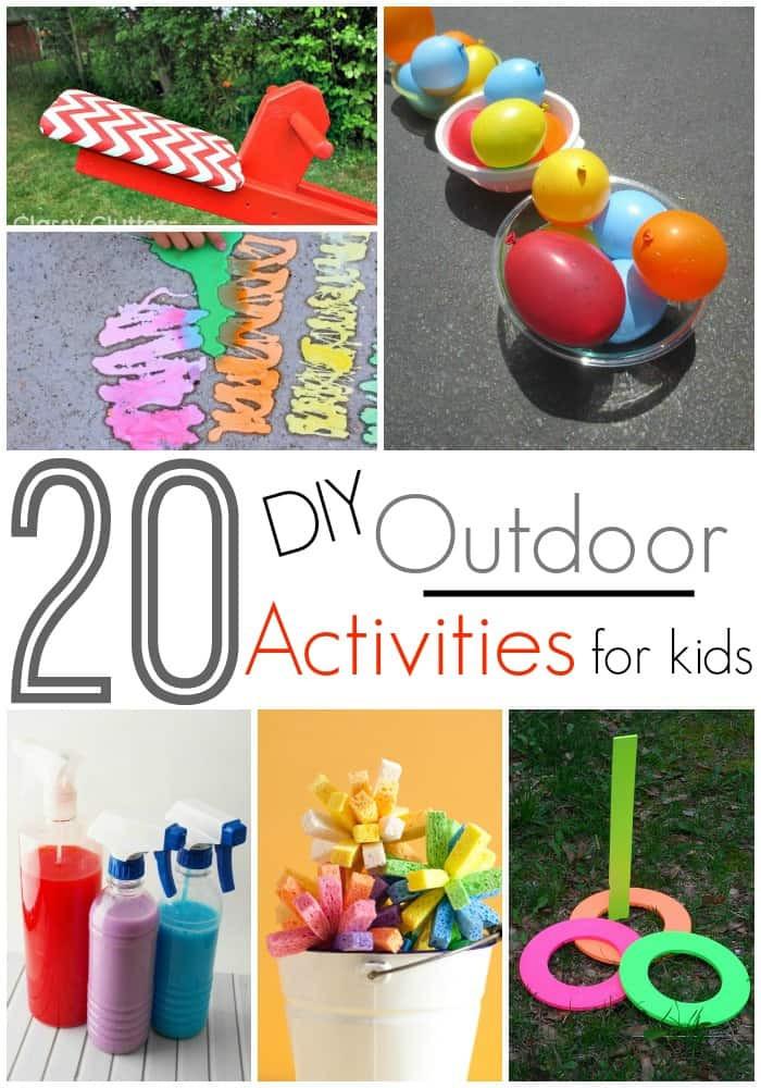 DIY Games For Toddlers  20 DIY Outdoor Activities For Kids