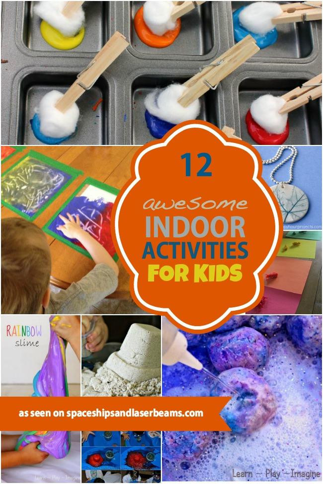 DIY Games For Toddlers  12 Awesome Indoor Activities for Kids Spaceships and
