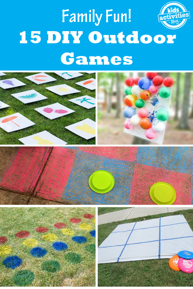 DIY Games For Toddlers  15 Outdoor Games that are Fun for the Whole Family