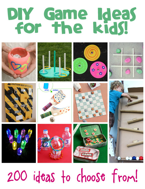 DIY Games For Toddlers  DIY Games Ideas for Kids