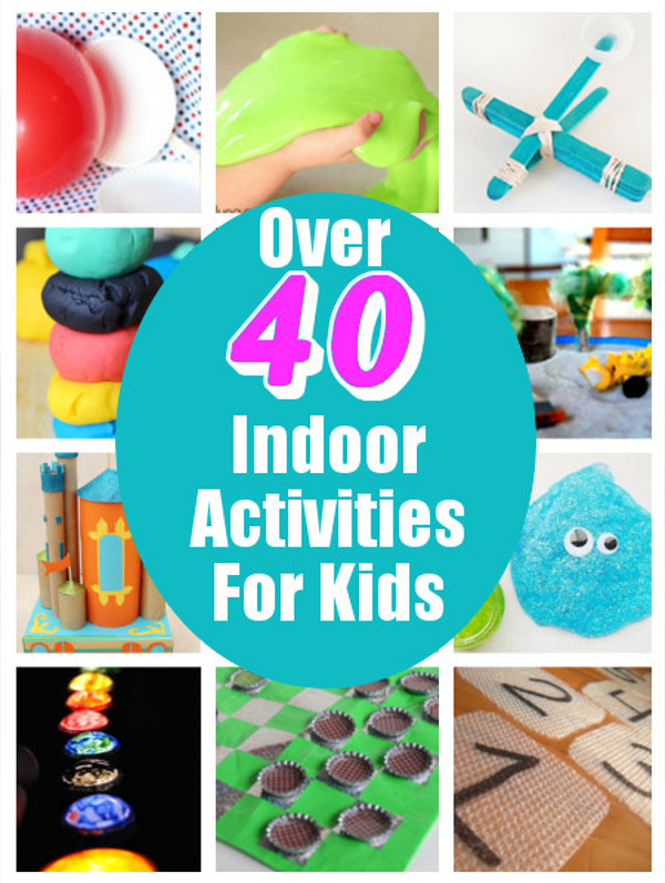 DIY Games For Toddlers  Over 40 Indoor Activities For Kids