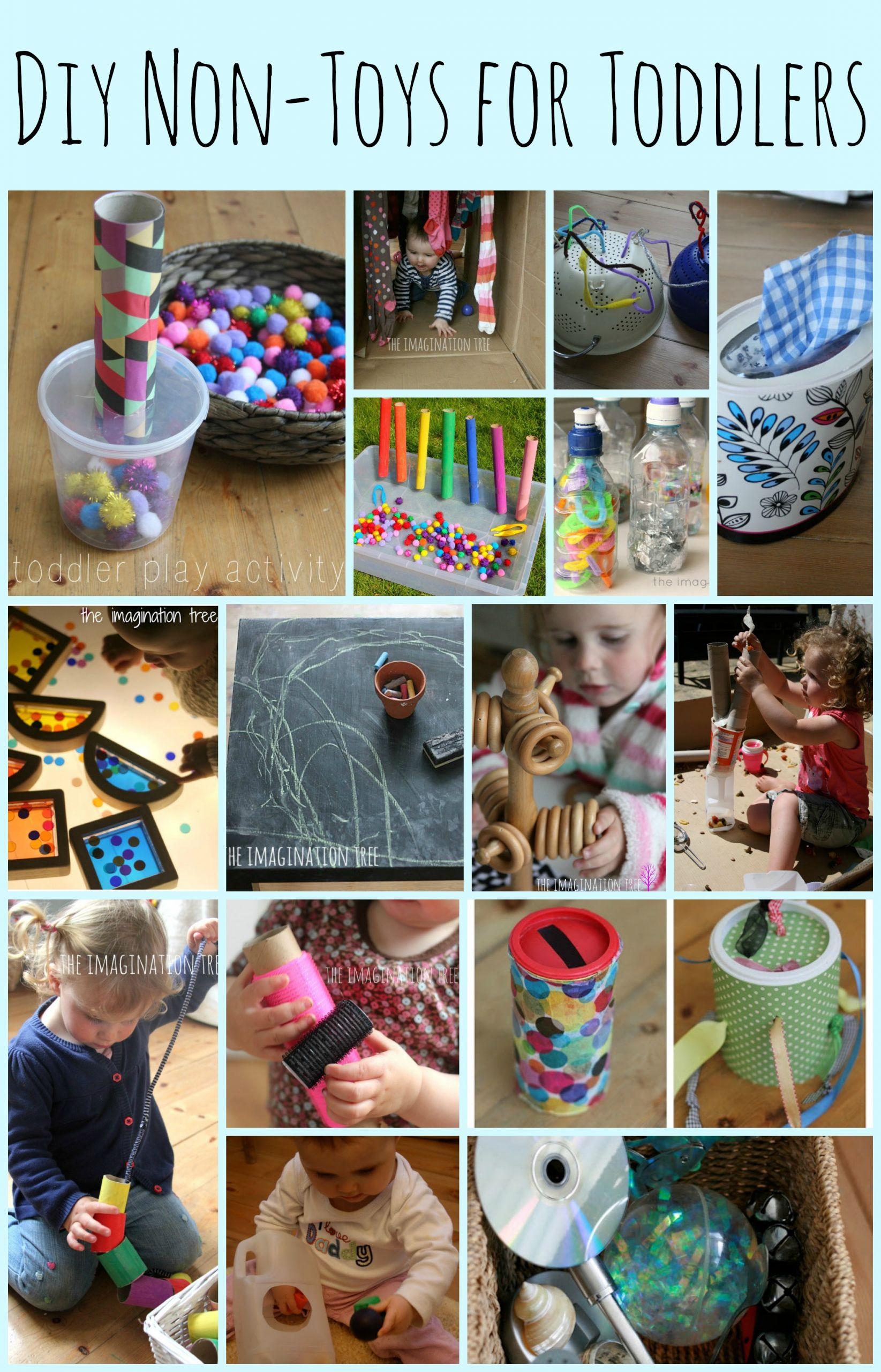DIY Games For Toddlers  15 DIY Non Toys for Toddlers