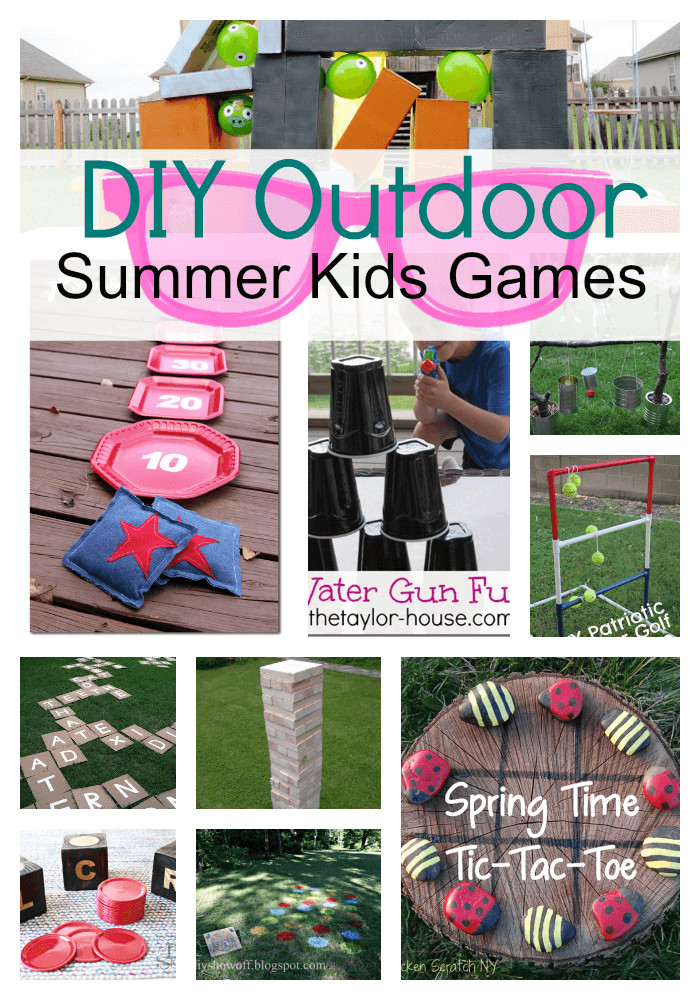 DIY Games For Toddlers  DIY Outdoor Games For Kids Princess Pinky Girl