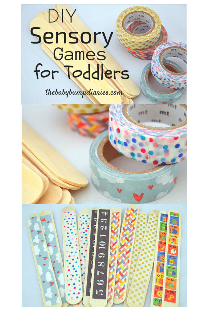 DIY Games For Toddlers  DIY Toddler Sensory Games The Baby Bump Diaries