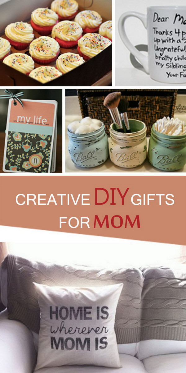DIY Gift For Your Mom  Creative DIY Gifts for Mom Hative