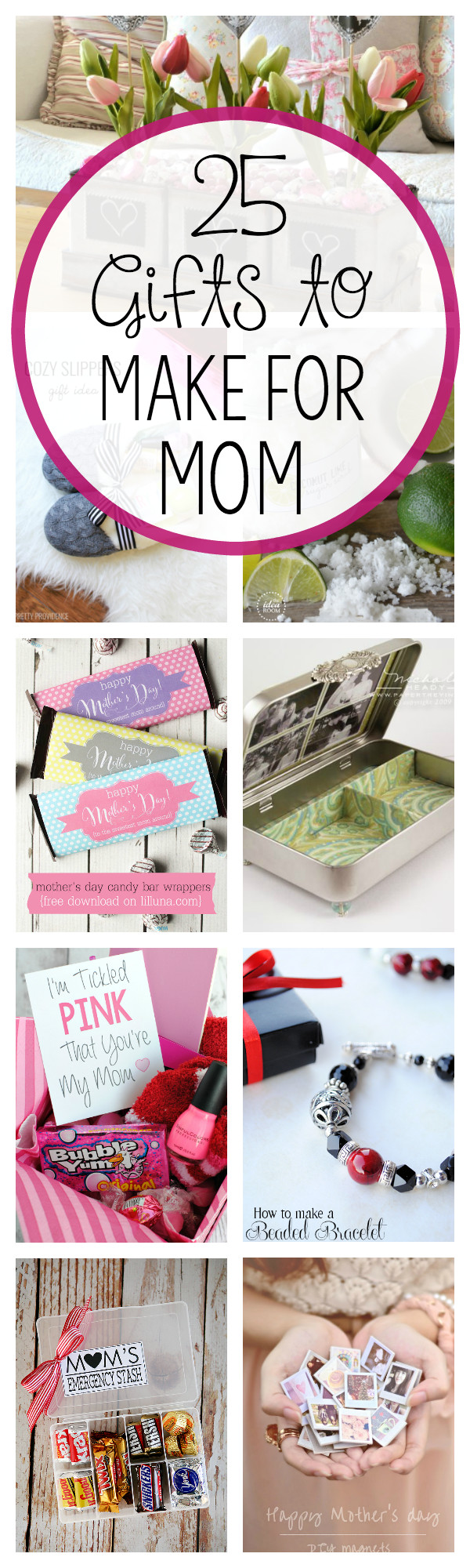 DIY Gift For Your Mom  DIY Mother s Day Gift Ideas Crazy Little Projects