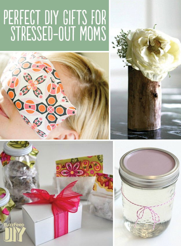 DIY Gift For Your Mom  22 Perfect DIY Gifts For Stressed Out Moms