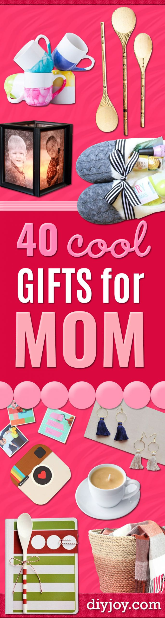 DIY Gift For Your Mom  40 Coolest Gifts To Make for Mom