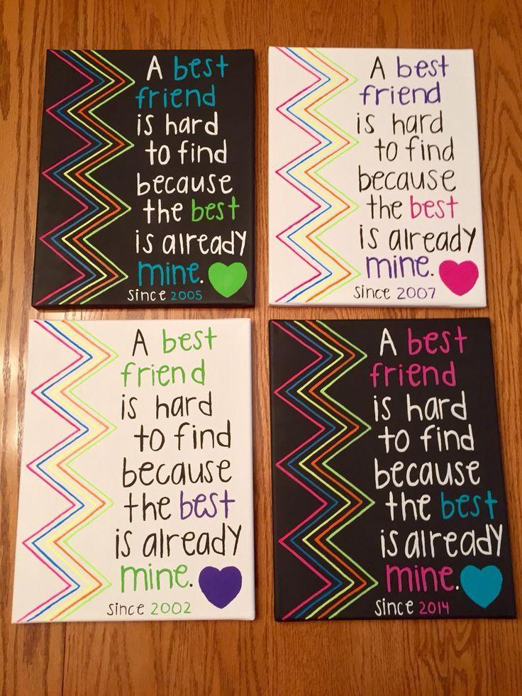 Diy Gift Ideas For Best Friend  Wall Art Gift DIY Christmas Gift Ideas for Best Friend
