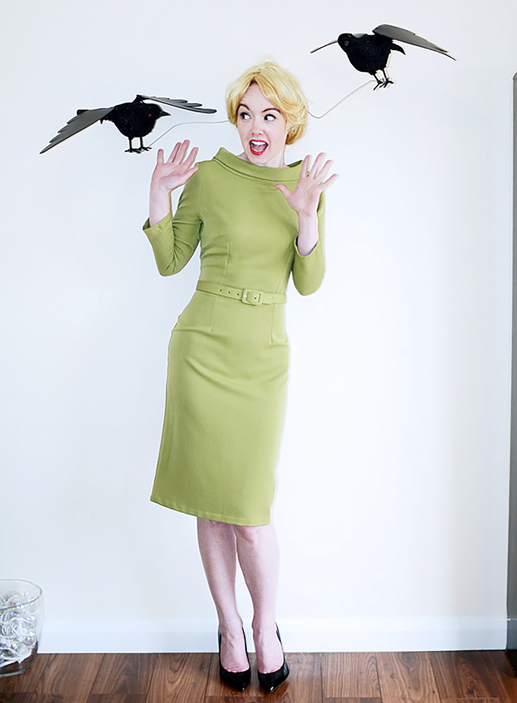 DIY Halloween Costumes  Six DIY Feather Costumes to Fly Into Halloween