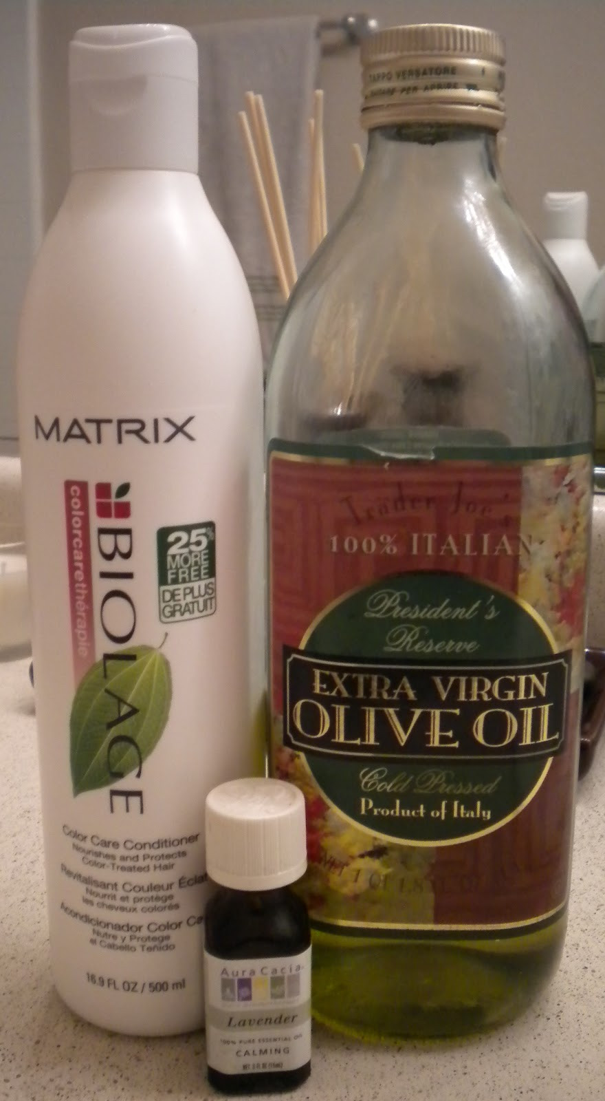 DIY Hot Oil Treatment For Damaged Hair  GorJess Fashion For Less Winter Dry Hair Remedy