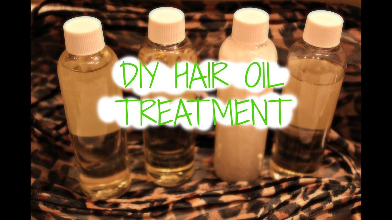 DIY Hot Oil Treatment For Damaged Hair  DIY Hair Growth Oil Hot Oil Treatment
