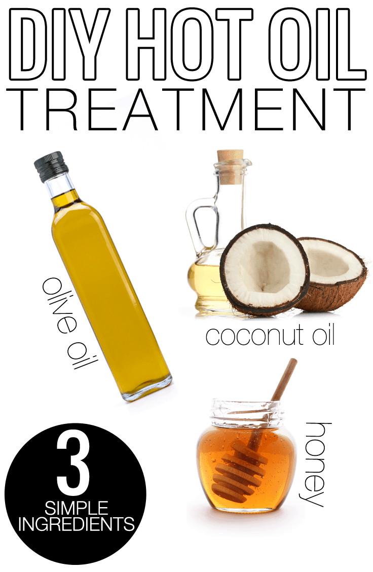 DIY Hot Oil Treatment For Damaged Hair  DIY Natural Hot Oil Hair Treatment Beauty