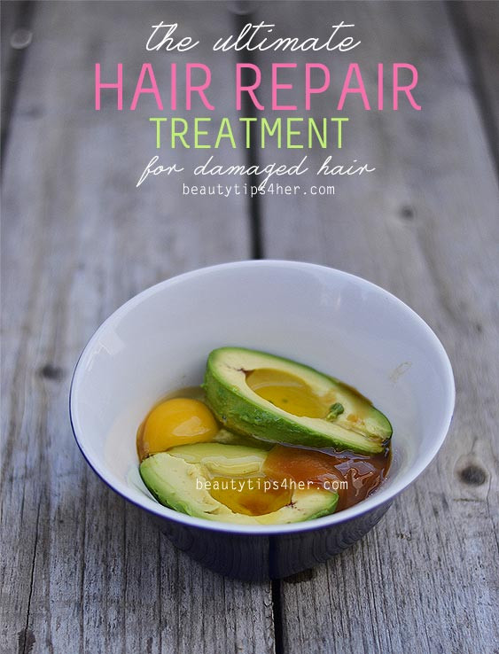 DIY Hot Oil Treatment For Damaged Hair  How to Fix Dry Damaged Hair – Your DIY Guide Natural