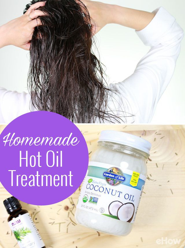 DIY Hot Oil Treatment For Damaged Hair  1000 images about Beauty Guide Nails Hair and Makeup on