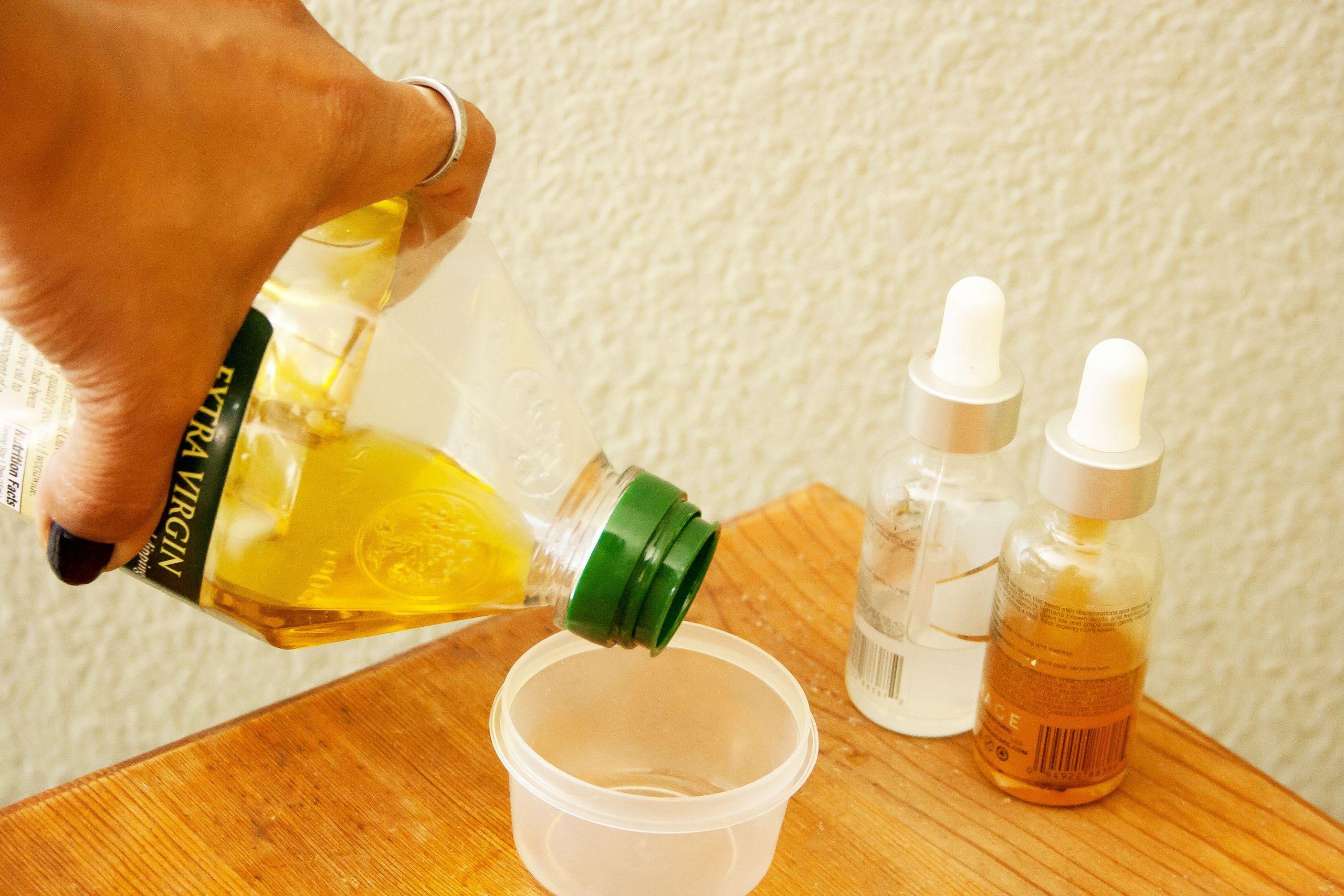 DIY Hot Oil Treatment For Damaged Hair  Hot Oil Treatments for Relaxed Hair