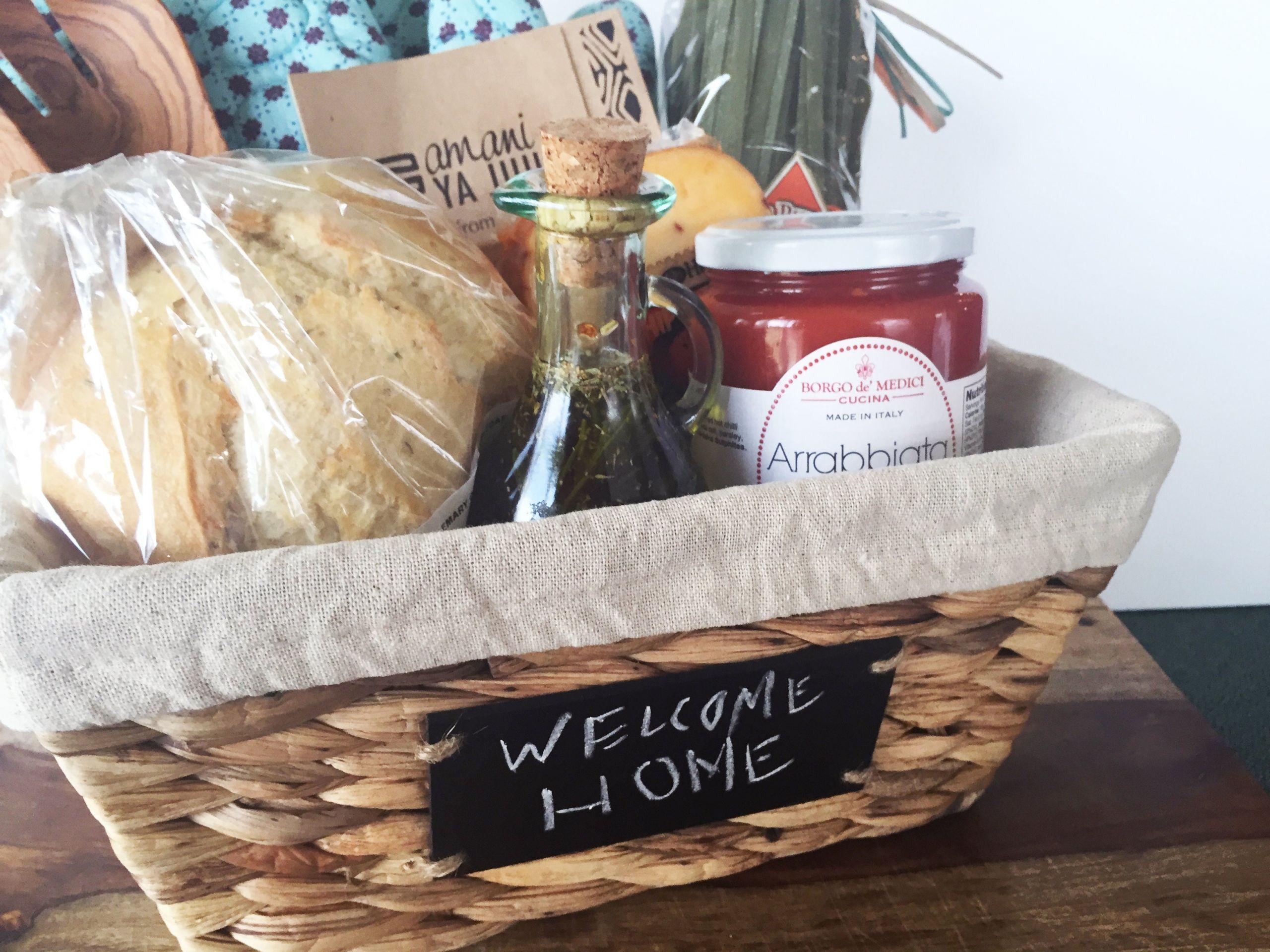 DIY Housewarming Gifts Ideas  DIY HOUSEWARMING GIFT BASKET T A S T Y S O U T H E R N