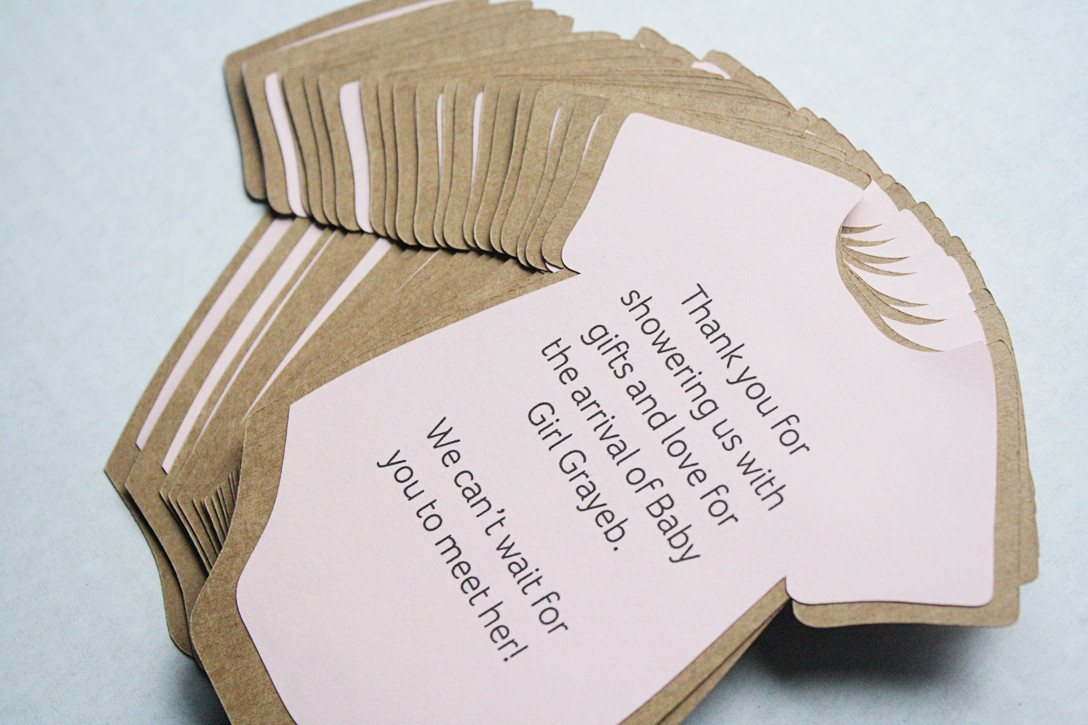 DIY Invitations Baby Shower  DIY Baby Shower Invitations or Thank You Cards