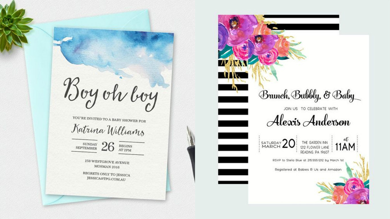 DIY Invitations Baby Shower  DIY Decorations For Your Next Baby Shower Venuescape