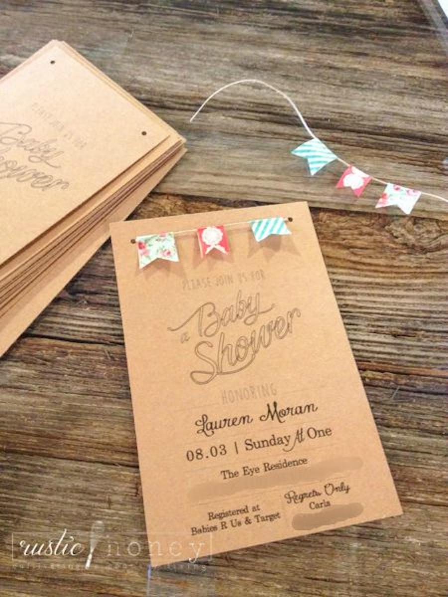 DIY Invitations Baby Shower  Free Printable Neutral Baby Shower Invite