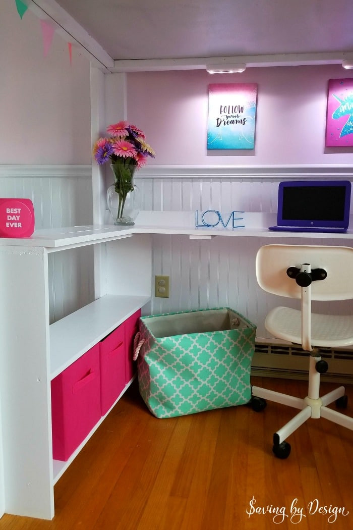 Diy Kids Bed With Storage  How to Build a Loft Bed with Desk and Storage