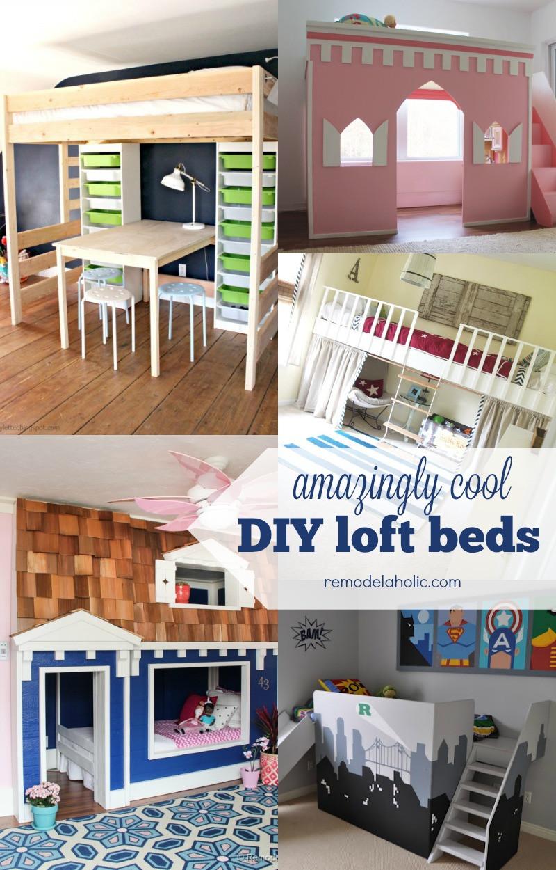 Diy Kids Bed With Storage  Remodelaholic