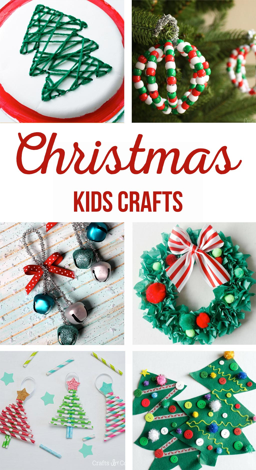 DIY Kids Christmas Craft  Christmas Kids Crafts The Crafting Chicks