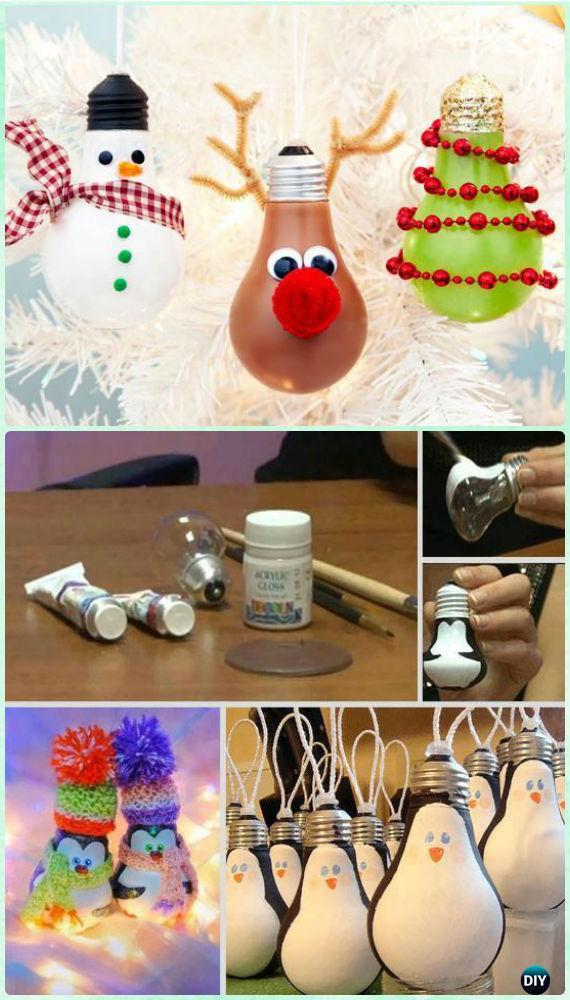 DIY Kids Christmas Craft  20 Easy DIY Christmas Ornament Craft Ideas For Kids to Make