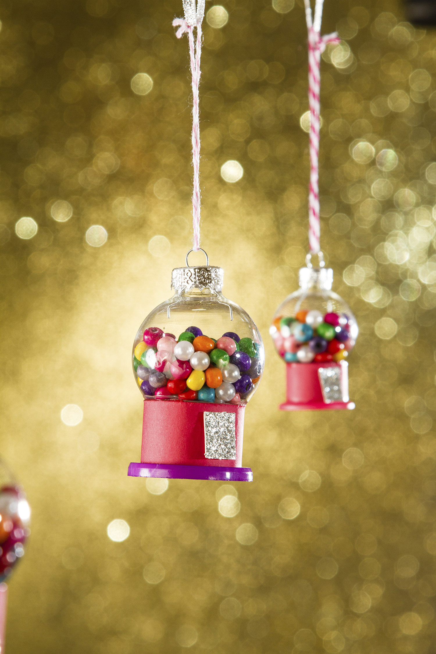 DIY Kids Christmas Craft  DIY Christmas Ornament Craft Ideas for Kids from Family