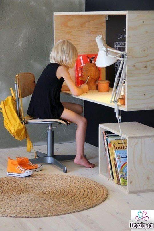 DIY Kids Desk Ideas  17 Smart DIY Desk ideas For Home fice DIY