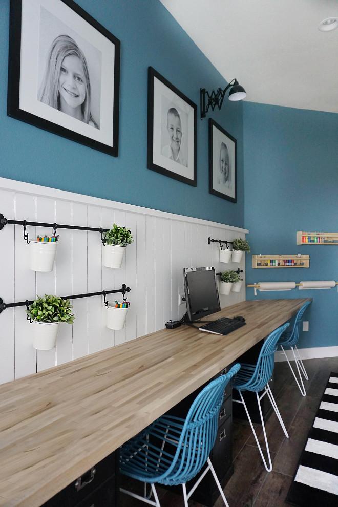 DIY Kids Desk Ideas  Beautiful Homes of Instagram Home Bunch Interior Design